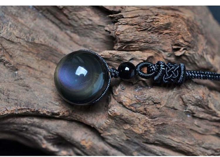 Black-Obsidian-Rainbow-Eye-Beads-Ball-Necklace_03