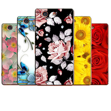 Buy Fashion Painted Hard Plastic Sony Xperia Z3 Mini Case Sony Xperia Z3 Compact M55W D5803 D5833 Cell Phone Case Cover for $2.94 in AliExpress store