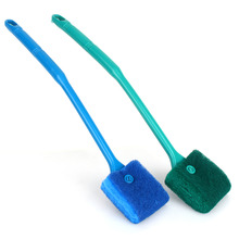 Hot Sale Aquarium Tank Clean Set Fish Net Gravel Rake Algae Scraper Fork Sponge Brush Glass Cleaning Tools Aquarium Cleaner(China)