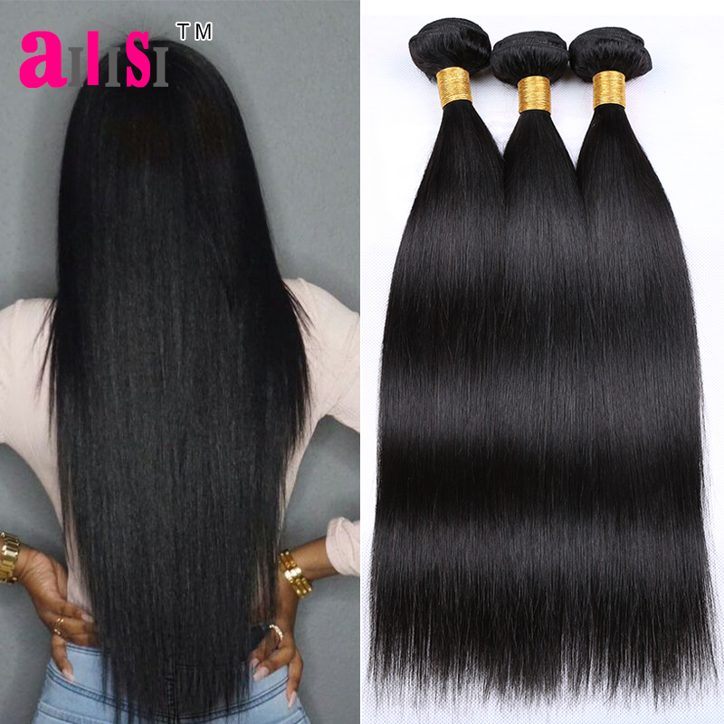 7A Indian Virgin Hair Straight Weave 3 Bundles Natural Black Color Annabelle Indian Straight Hair Unprocessed Human Hair Weave<br><br>Aliexpress