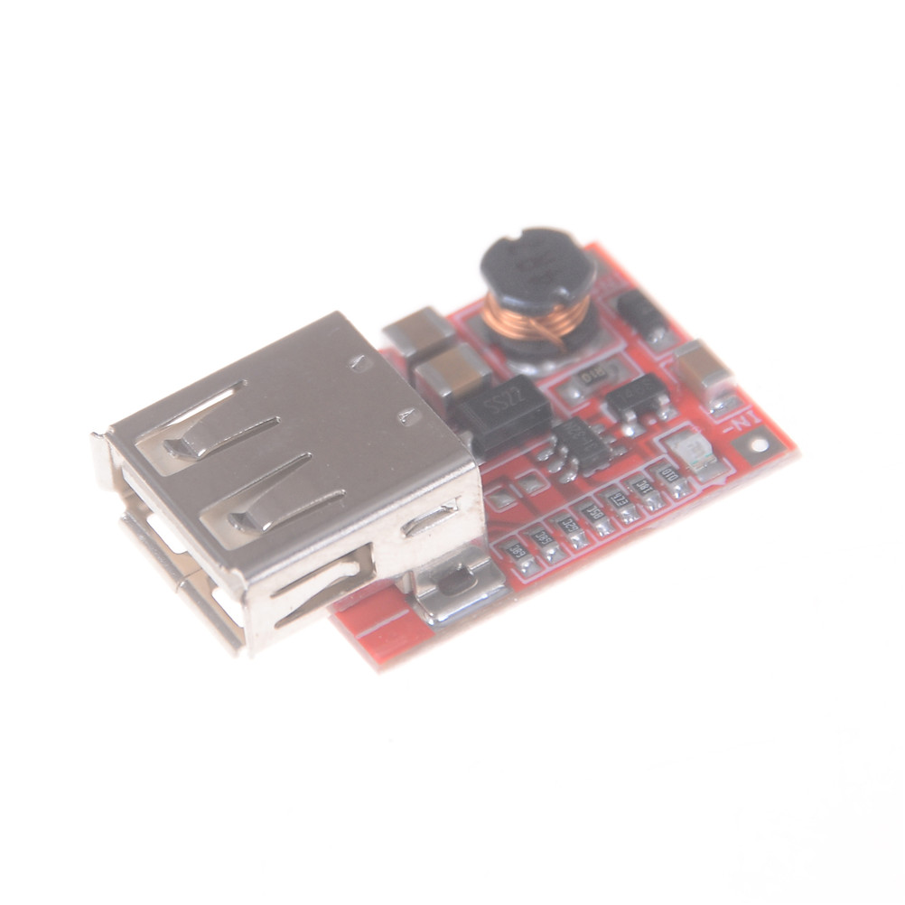 1PC High Quality Step Up DC-DC Boost Converter 3V To 5V 1A USB Charger Mini Mobile Power Supply