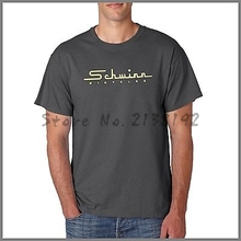 Free shipping Schwinn Old School logo MEN T SHIRT Charcoal short sleeve tshirt mens brand cotton tee shirts summer t-shirt
