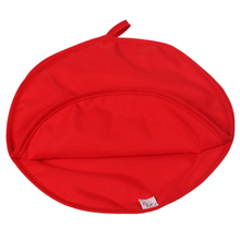 Round Red Cooker Bag Washable Baked Cooking Roast Potato Microwave kitchen accessories gadget MA875528(China)