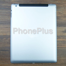 Rear Housing Back Cover Frame Battery Door Bezel Case Repair Replacement Part With Logo For Apple iPad 4 3G Version