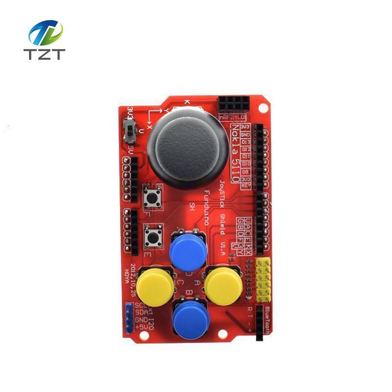 Joystick Shield for Arduino Expansion Board Analog Keyboard and Mouse Function Joystick Shield V1.2 6