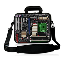 "13"" Mainboard Soft Laptop Bag Carry Case Cover w.Pocket,Shoulder Strap Fit 12.5"" 13"" 13.3"" HP Dell Acer Sony Sumsang Laptop(China)"