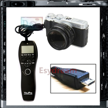 Timer Remote Control Shutter Release Cable Cord Wired As RR-90 RR90 For Fuji Fujifilm X-A1 X-E2 X-T1 X-T2 XT1 XA1 XE2 X-T20 X-A3