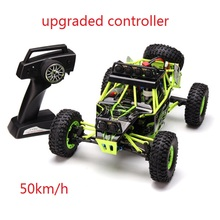 (Ship from US) 50km/h 4WD RC Car WLtoys 12428 2.4G 1:12 4WD Rock Crawler Cross Country Climbing Car Off Road With LED Light RTR(China)