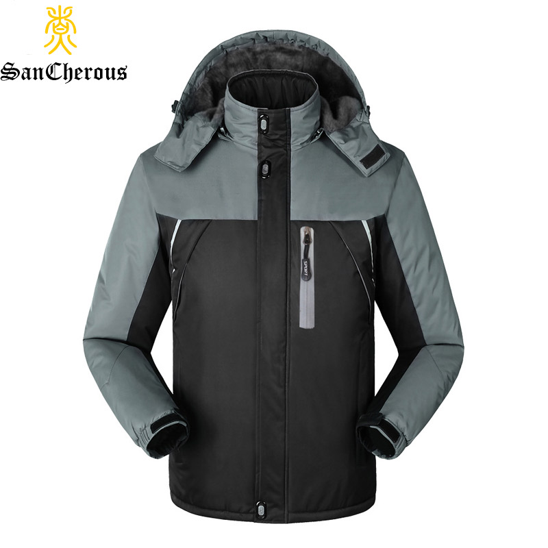 2019 Wholesale New Deisgn Men Warm Jacket Outwear  Winter Jacket Men Thick Coat Size L-4XL