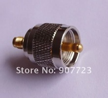 50pcs SMA Female To UHF PL259 Male RF Connector Adapter