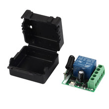 433 Mhz Wireless Remote Control Switch DC 12V 10A 1CH relay 433Mhz Receiver Module For 1527 learning code Transmitter Remote