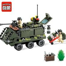 Enlighten 167Pcs building block sets bricks blocks eductional blocks toys for children Armored car playmobile toys