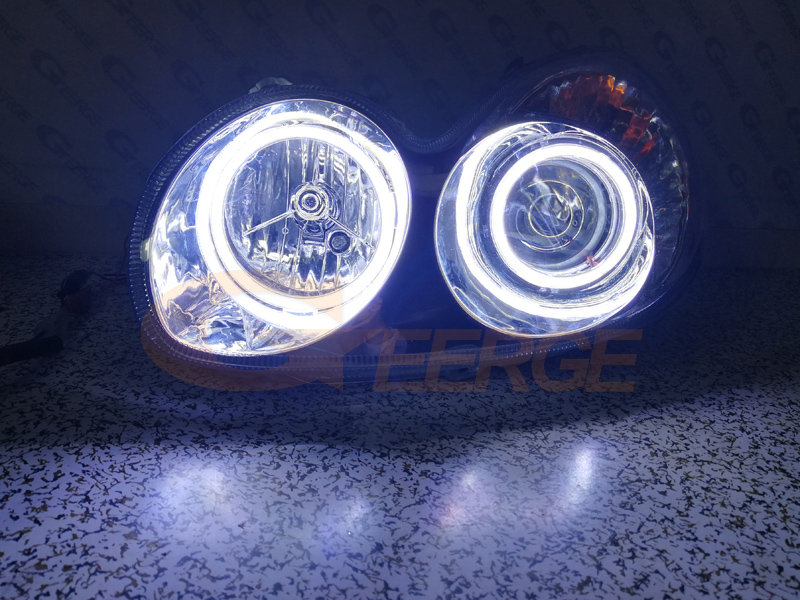 Hyundai Sonata 2002 2003 2004 2005 cob led angel eyes(7)