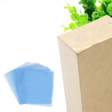 TAOS 100Pcs 13.39 x 9.45inches PVC Shrink Wrap Film Flat Bags Heat Seal for Soaps Bath Bombs Handmade DIY Crafts Gift Packing(China)