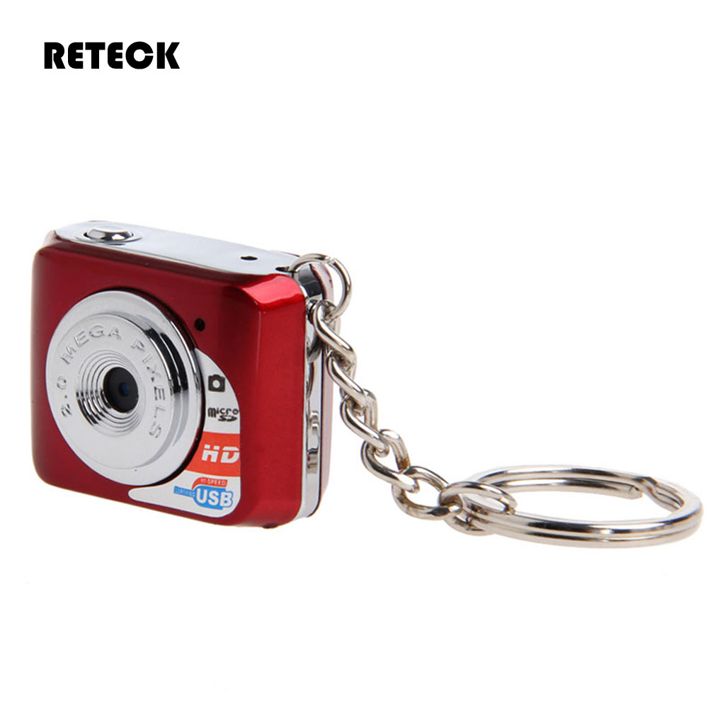 Free Shipping Red Black Camcorder Web Camera Tiny Keychain Pocket Toy Hidden Cam Audio Recorder(China (Mainland))