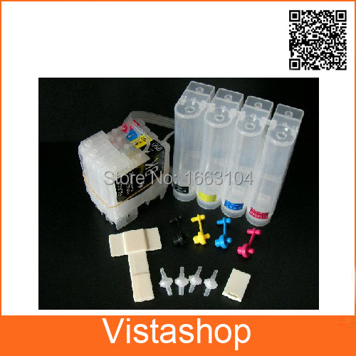 1 Set  Empty CISS For Brother LC 38  For Brother 165c 145c 185c 790cw 990cw Continuous Ink Supply System<br><br>Aliexpress