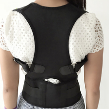 2018 Hot Sale The Best Care Back Brace Lumbar Support Belt Professional Exercise Back Shoulder Spine Posture Corrector Corset(China)