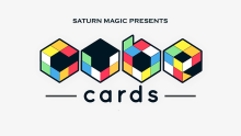 Saturn Magic Presents Cube Cards (Gimmick and Online instructions) - Magic Trick,Close Up,Illusion,Fun,Mentalism,Card Magic