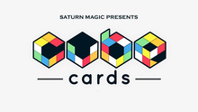 Saturn Magic Presents Cube Cards (Gimmick and Online instructions) - Magic Trick,Close Up,Illusion,Fun,Mentalism,Card Magic(China)