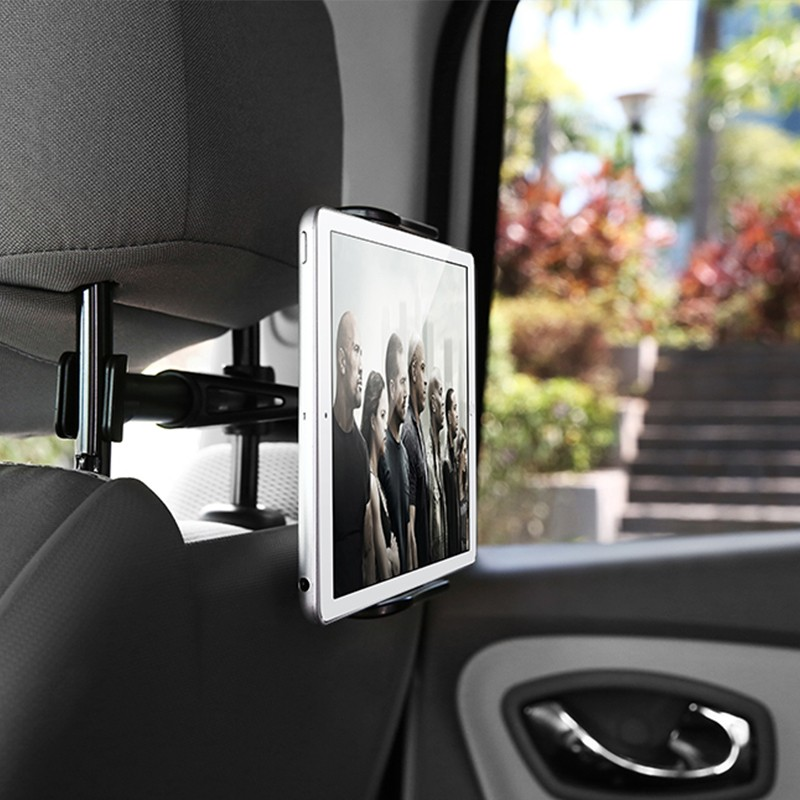 Car Phone Holder Back Seat Tablet Bracket 4-11 Inch 360 Degree Car Holders For iPhone X 8 iPad 2 3 4 Mini Mi Pad 2 3 Mediapad (5)