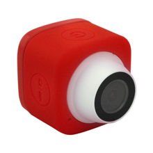 Red 720P HD Mini WIFI Wireless Selfie Camera TF Card support for taking photos or filming a video onto smart phone via APP(China)