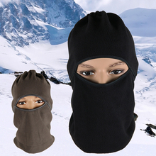 Hot Sale Winter Ultra Warm Ski Cycling Face Mask Multifunctional Hat Cap With Neck Black Gray Colors Outdoor Headwear #91159