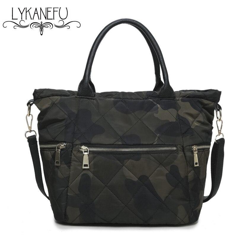 LYKANEFU Luxury Soft Women Handbag Oxford Designer Handbags Female Bag Winter Ladies Crossbody Tote Bags Large Capacity <br><br>Aliexpress