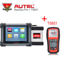 Newest Autel MaxiSys Pro MS908P ECU Programming with J2534 Car Auto Scanner Diagnostic Tools & MaxiTPMS TS601 Car TPMS Tool(China)