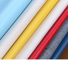 0.5-0.6mm embossed synthetic leather/ knitted backing PVC leather for Bags, shoes, belts, sofas, chairs(China)