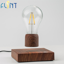 FLSNT Magnetic Levitating Floating Wireless Bulb Lamp for Unique Gifts Room Decor Night Light Home Office Desk Tech Toys(China)