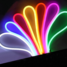 1 Pc Colorful City Flexible Neon Outdoor Waterproof Colorful Strips Soft Article Lamp Lights with Advertisers