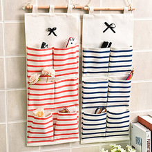 6 Pockets Clear Over Door Hanging Bag Shoe Rack Hanger Storage Tidy Organizer Home hang storage bag 4 colors(China)