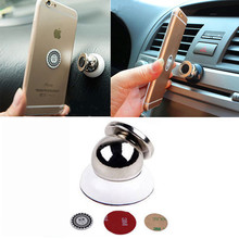 Car Holder Mini Air Vent Mount Magnet Magnetic Cell Phone Mobile Holder Universal For iPhone 5 6 6s 7 GPS Bracket Stand Support