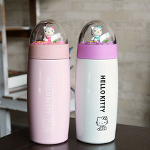 Novelty Items Micro Hello Kitty Thermos Creative Mighty Mug Stainless Steel Vacuum Flask Children's Day Gift