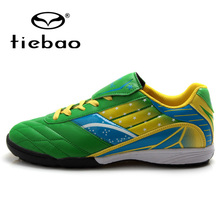 TIEBAO Professional TF Turf Sole Football Shoes Men Women Training Shoes Sneakers Outdoor Sports National Flag Soccer Boots