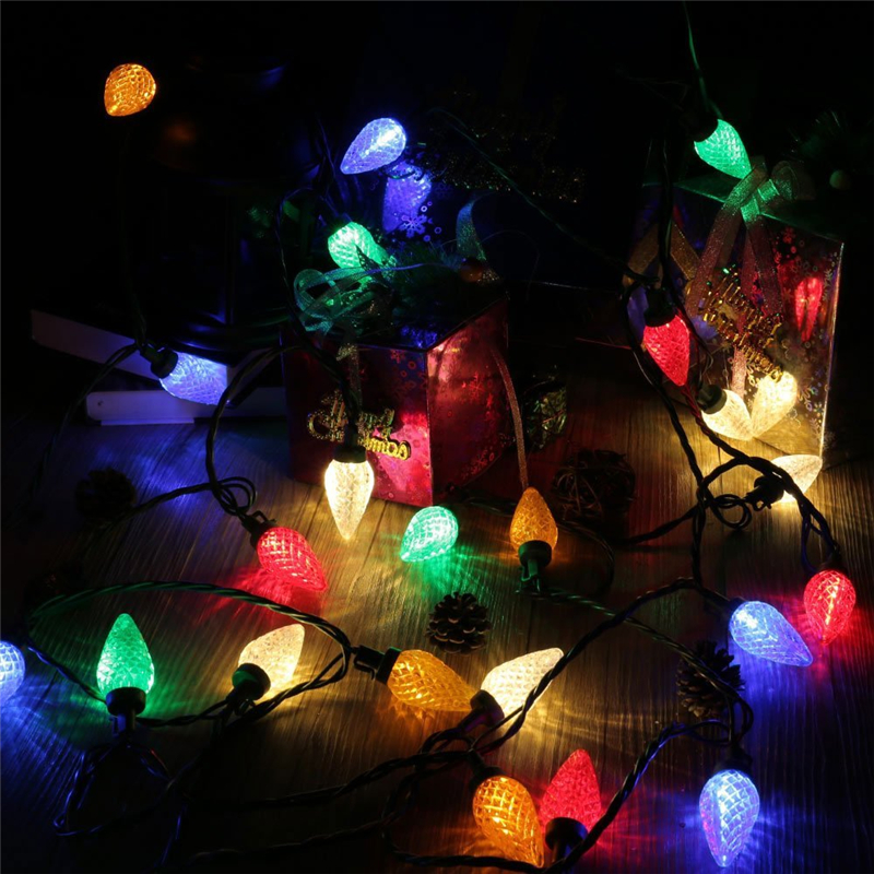 25 LED 16ft Fairy Decorative String Lights (12)
