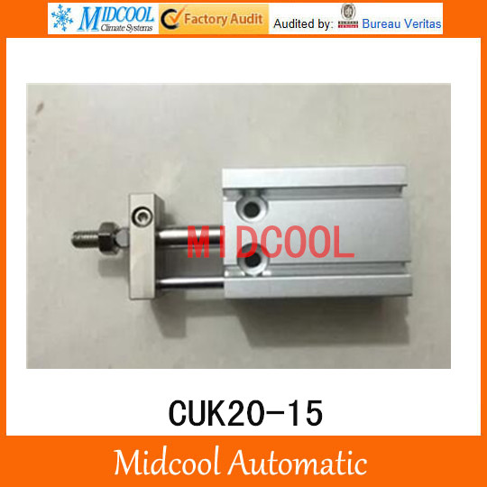 Multi-position free installation of the cylinder CUK20-15 bore 20mm stroke 15mm<br>