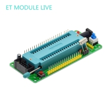 51 avr mcu minimum system board development board learning board stc minimum system board microcontroller programmer(China)