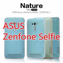 Original NILLKIN Nature silicone Case for ASUS Zenfone Selfie ZD551KL + + Registered Air Mail(China)
