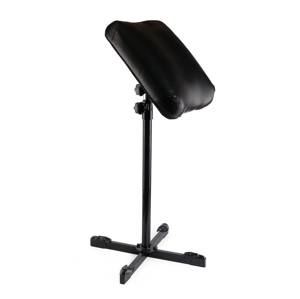 1Pcs Professional New Black Tattoo Heavy Duty Iron Tattoo Arm Rest Leg Rest Full Adjustable Armrest  Supply  accessoire de tatoo<br>