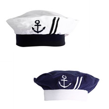 2017 Baby Hat Children's Navy Sailors Hats Boy Girls Wear Hats Caps 0--1 Years Old Retail()