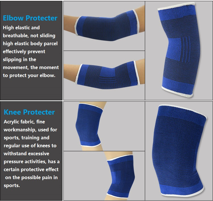 Cycling Equipment Sports Safety Knee Pads Ankle Support Arm Warmers Ankle Brace Support Band Palm Wrist Hand Support Glove2 (12)