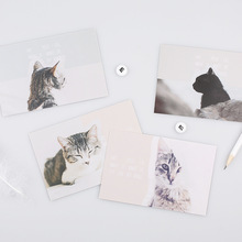 new 30pcs my pussy cat style postcard say love secret invitation Greeting Cards gift cards Christmas postcard & invitation