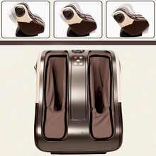 2015 NEW Present!! Free Shipping Luxury Full Feet Massager Electric Shiatsu Foot Massage Machine Foot Care Device(China)