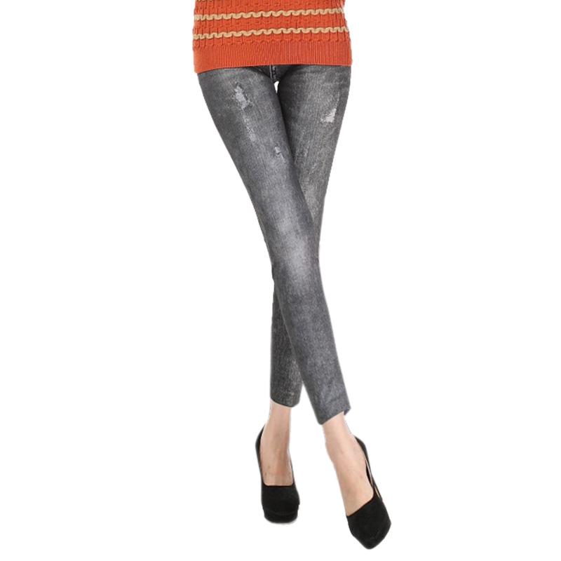 Comfortable Skinny Pants Denim Legins Women Fashion Sexy Women Jean Skinny Leggings Stretchy Slim Leggings 19