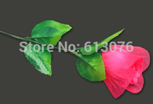 light up rose,magnetic control  - Magic trick,flower magicclose up magic,wedding gift