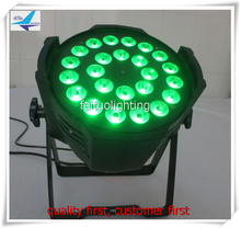 Disco slim flat aluminium led par 24x10w led par can rgbw dmx led par 64 light(China)
