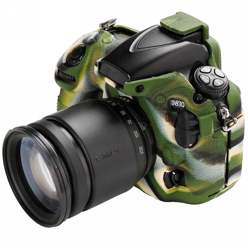 Soft Silicone Rubber Camera Bag For Nikon D810 D800 D850 Protective Body Case Skin DSLR Camera Rubber Cover Bag (15)