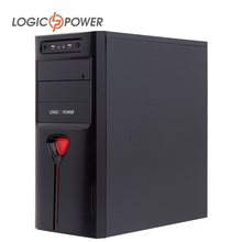 desktop computer  case  New Arrivals 80mm FAN, CD-ROMx2, HDDx1,  PCIx7, USBx2, AUDIO In/ Out