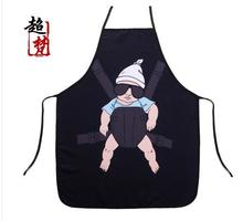 2017 funny Creative Aprons Korean Cute kitchen Cleaning Aprons Personality Wacky Gift Couple Housewife Supplies qy155